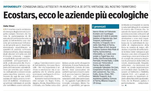 Gazzetta Premio Ecostar 2014