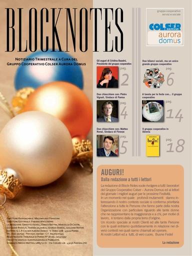 Block Notes - 4 (dic. 2010)