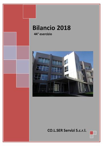 Bilancio 2018