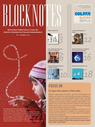 Block Notes - 7 (dic. 2011)