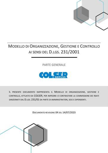 Modello di Organizzazione, Gestione e Controllo - 2021